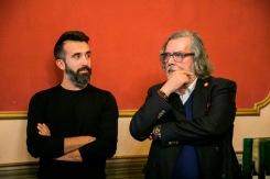 13 Andrea Di Lorenzo (Fotografo professionista) con Ramon Pernas (Scrittore, giornalista e critico letterario)